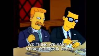 The Simpsons: Mr Burns sells the nuclear power plant [Clip]