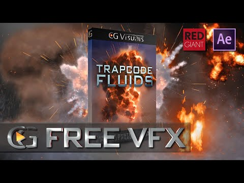 After Effects Tutorial: Trapcode Fluids Starter Kit (FREE)
