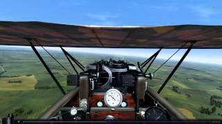 [Rise Of Flight] Fokker D.VII vs. Bristol F2B, 1918