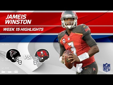 Jameis Winston Goes 27 for 35 w/ 299 Yds & 3 TDs! | Falcons vs. Buccaneers | Wk 15 Player Highlights