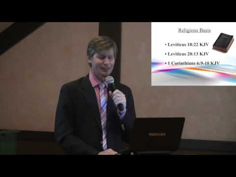 ACSJ Presents Professor Sheldon W. Helms: Gay Conversion Therapy