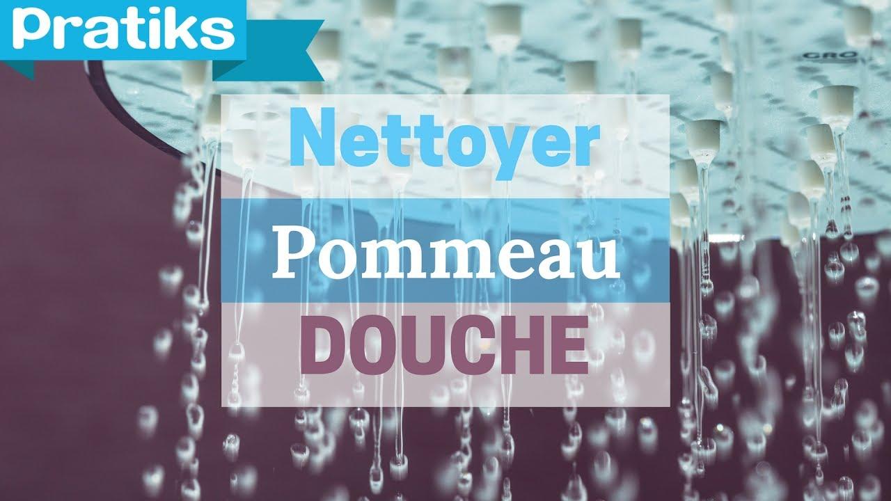 Comment Bien Nettoyer La Douche comment nettoyer son pommeau de douche - gaël gagne du temps - youtube