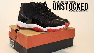 "The Best Jordan Sneaker of all Time??? Air Jordan Retro 11 ""BREDS"" Sneaker REVIEW"