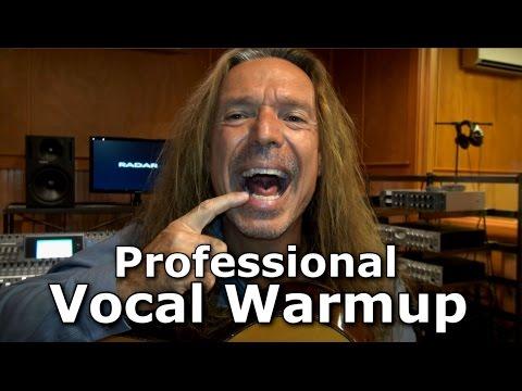 Professional Vocal Warm Up - Vocal Workout - Ken Tamplin Vocal Academy