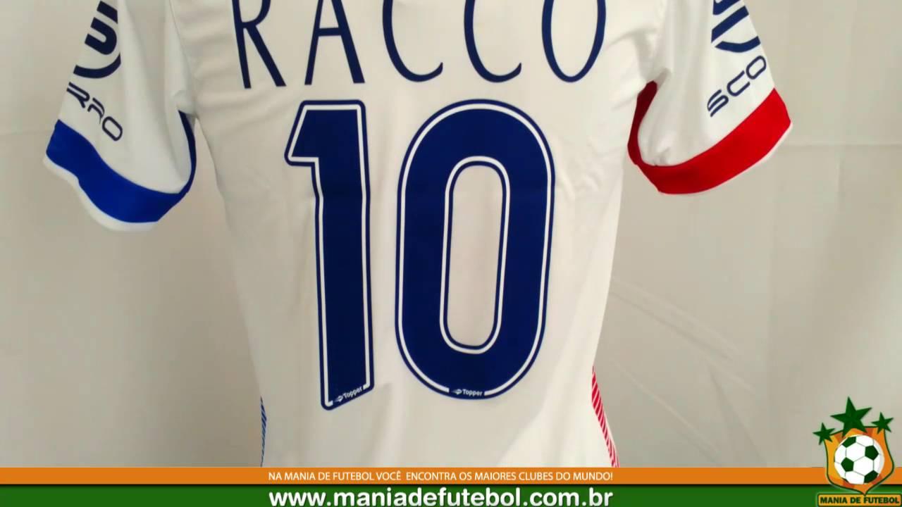 Camisa Jogo 2 Paraná Clube 2016 Topper Branca - YouTube 09af8b908fa33