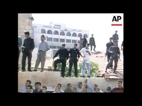 WEST BANK: RAMALLAH: PALESTINIANS KILL 2 ISRAELI SOLDIERS
