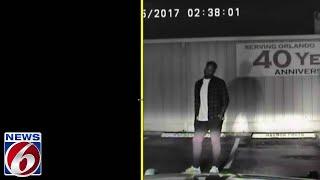 Cyle Larin dui dash camera video
