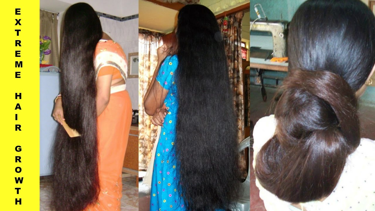 How to grow long and thick hair naturally at home in hindi