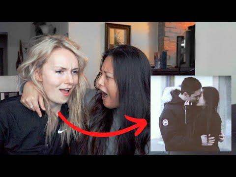 My Girlfriend Reacts To Videos Of My Ex-Boyfriend...*super Awkward*