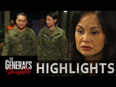 Corazon  covers up Marcial and Rhian to the militar | The General's Daughter