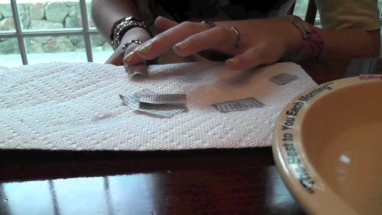 Newspaper Nails Tutorial With Water Youtube