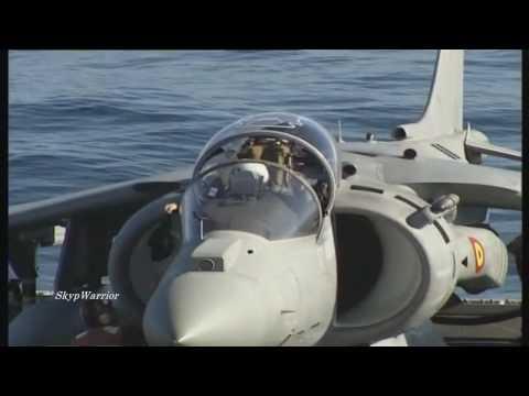 Sea Harrier VS Pavania Tornado-NATO Exercise-Aircraft Carrier