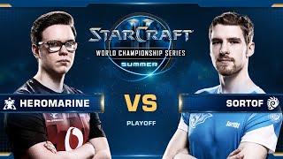 HeroMarine vs SortOf TvZ - Ro16 - WCS Summer 2019