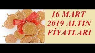 16,03,2019 Altın Fiyatları Dolar Fiyatları Euro Ne Kadar Sterlin Kaç Lira