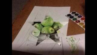 Урок рисования Акварелью