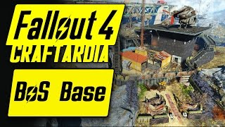 Fallout 4 Brotherhood of Steel Base - Outpost Zimonja - Fallout 4 Settlement Building PC BoS Base