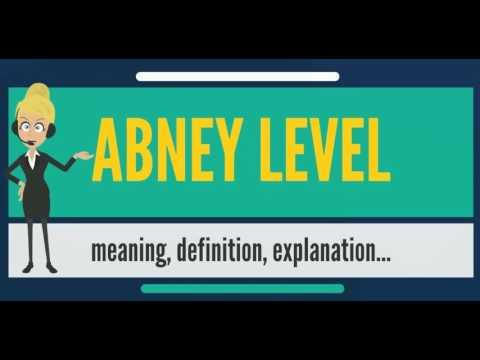 What is ABNEY LEVEL? What does ABNEY LEVEL mean? ABNEY LEVEL meaning, definition & explanation