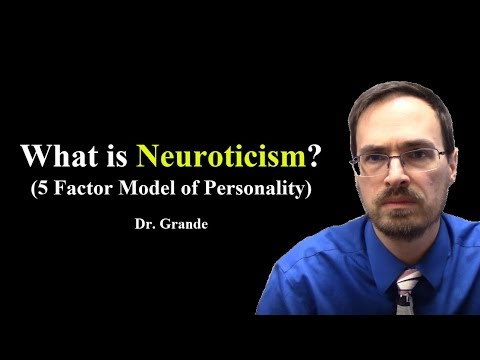 neuroticism and the five factor model Psychological researchers sometimes use a five-factor model (ffm) to evaluate what are believed to be five core aspects, or traits, of an individual's personalitycommonly referred to as the.