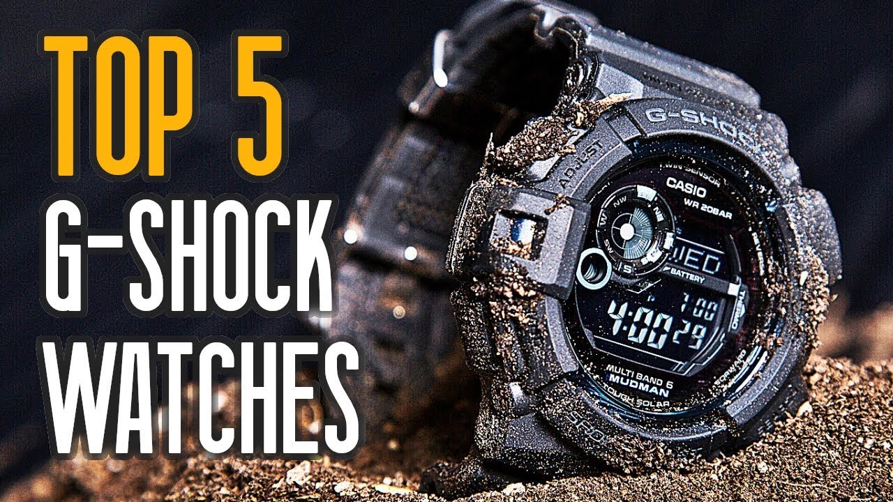 Best Digital Watches 2020 TOP 5: Best Casio G Shock Watches For Men!   YouTube