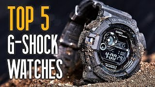 TOP 5:  Best Casio G Shock Watches For Men!