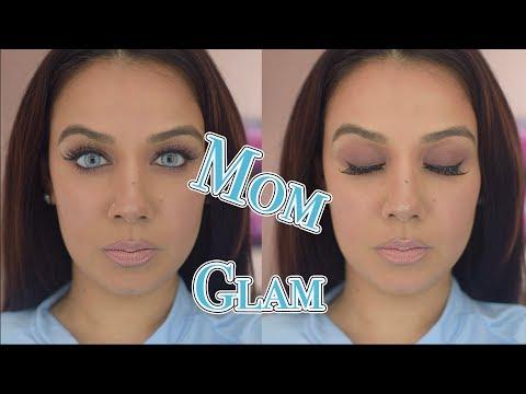 Natural #Mom #Glam #makeup
