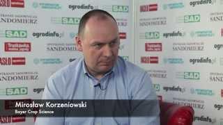 Mirosław Korzeniowski Bayer odporność patogenów na środki ochrony roślin.