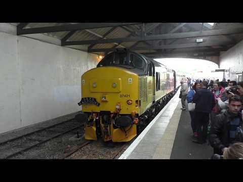 (HD) SRPS Railtours - The Far North Explorer 3/6/17 featuring 37025 & 37421