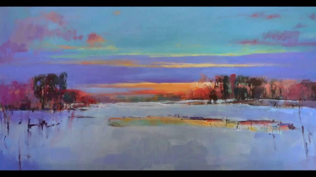 dutch landscape artist cees vegh  coastal oil paintings