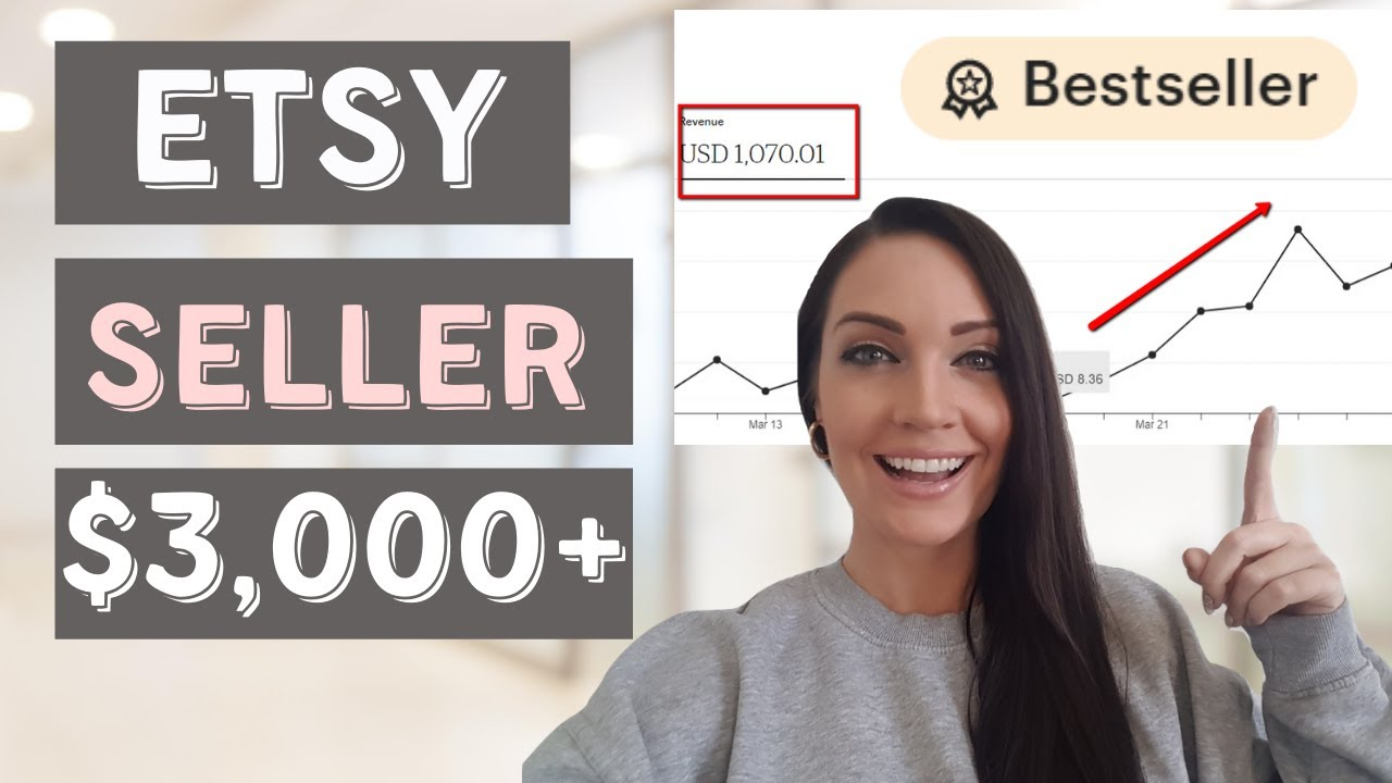 Etsy | How to sell on Etsy & earn up to $3000 per month!