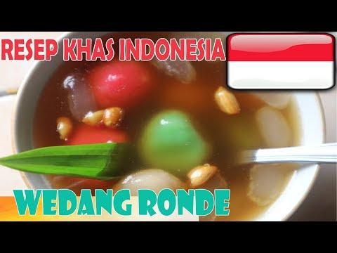 WEDANG RONDE Minuman Khas Indonesia - Resep Dan Cara Membuat Wedang Ronde - Wedang Ronde Recipe