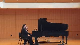 "Alexander Lynn & Kaylee Hershberger perform ""Jupiter, the Bringer of Jollity"" (THE PLANETS/ G.Holst)"