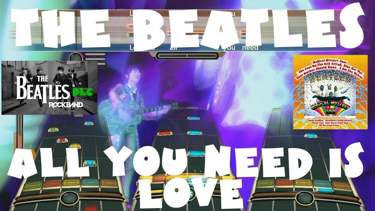 The Beatles - All You Need is Love - The Beatles: Rock Band DLC (September  9th, 2009)(REMOVED AUDIO)