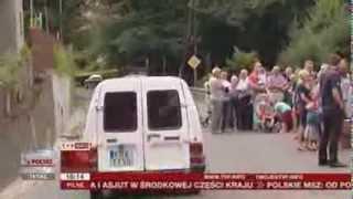 Droga strachu w Nielepicach (Raport z Polski TVP Info, 14.08.2013)