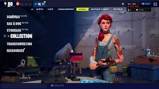 Live fortnite jai my code creater and soon the pp like and subscribe thank you [PS4][FR]
