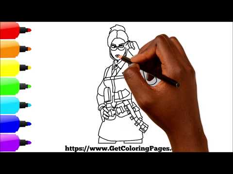 How to Draw Rook Fortnite