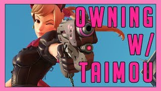 Owning on Rialto w/ Taimou! - Seagull - Overwatch