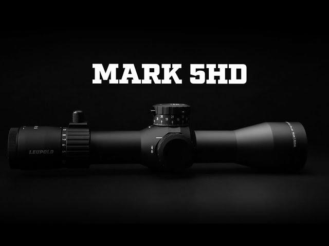 Leupold Mark 5HD Rifle Scope