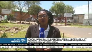 Mpumalanga school principal suspended after alleged assault