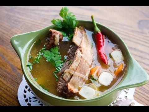 суп с говдиной рецепты