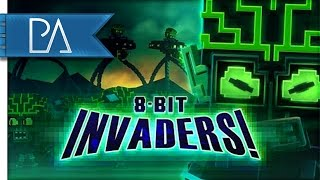 ALIEN INVASION - 8-Bit Invaders! Gameplay