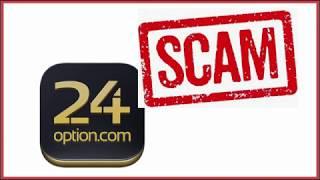 24 Опцион - изучение отзывов о forex мошенниках 24 Option