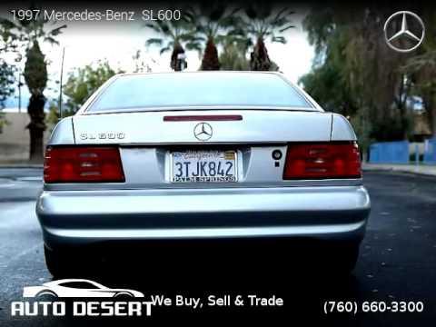 1997 MercedesBenz SL600  Auto Desert  YouTube