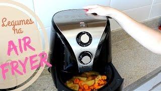 Legumes crocantes na Air Fryer | Cozinha possível