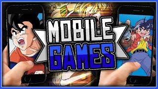 Irgendwelche Anime Mobile-Spiele, aber hauptsächlich Dragonball.
