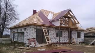 видео Как построить крышу своими руками. Кровельные материалы