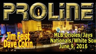 Proline: Indians/Mariners, Nationals/White Sox Betting Preview, June 9, 2016