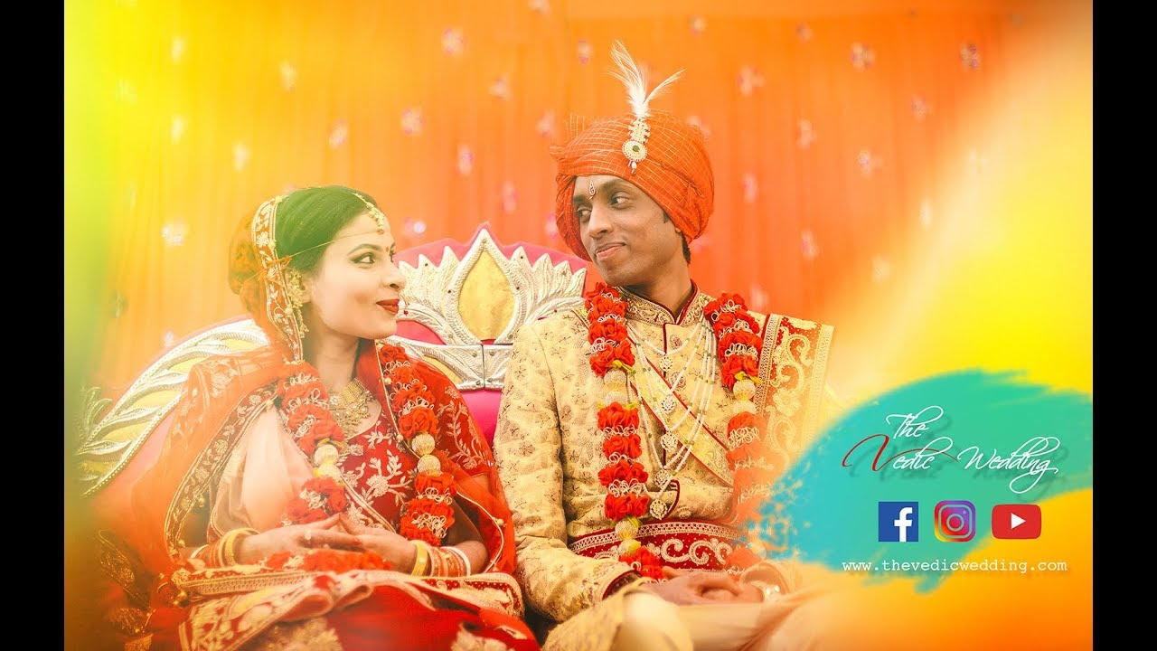 Anish & Shilpa || The Vedic Wedding || Cinematic Teaser 2019
