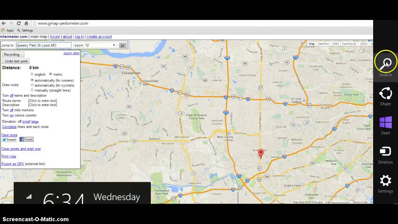 how to use gmappedometer  youtube - how to use gmappedometer