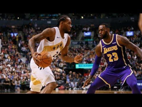 Lakers Considered Trading LeBron! Raptors Blowout Win! 2018-19 NBA Season
