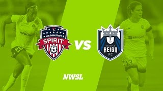Washington Spirit vs Seattle Reign FC full match